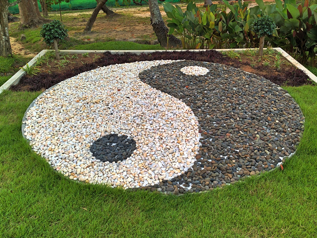 Yin and Yang Tao Rock Garden
