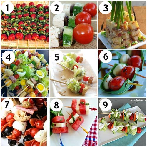 Mrs. Fields Secrets Salad on a Stick Appetizers