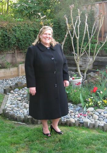 Wool coat front 2