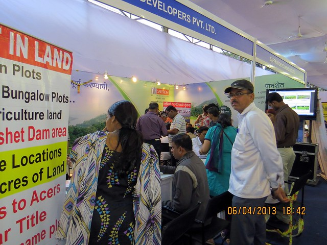 Saffron Developers - Maharashtra Times Pune Property Show April 2013