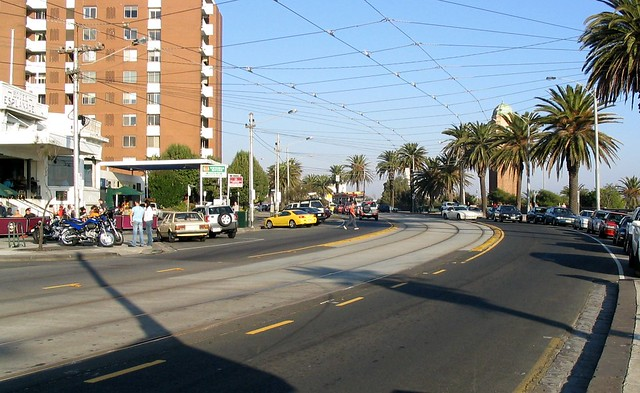 The Esplanade, St Kilda, April 2003