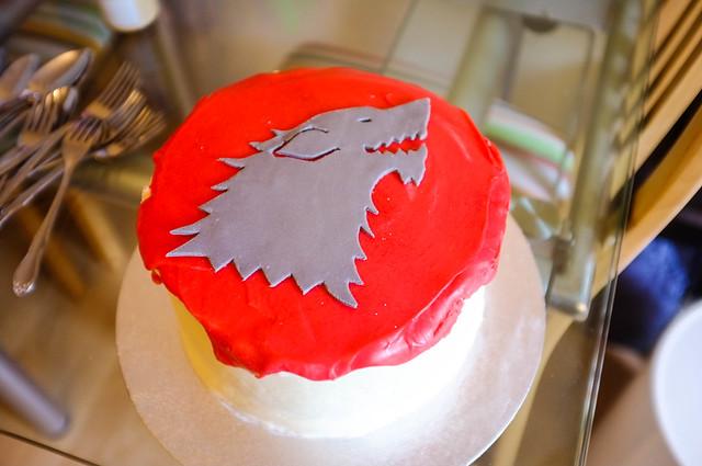 Direwolf Cake