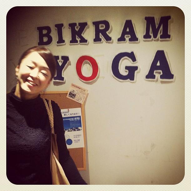 Ginza studio was very pretty. I missssss practicing Bikram yoga so much! #bikramyoga #tokyo #ichigonewjourney