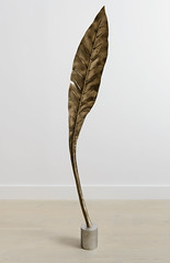 <strong>The Tainted - </strong> <br />Shan Hur, Tree #4 (Pacho), 2013, Bronze, stainless steel base, 25 cm x 67 cm x 30 cm