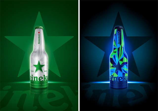 Heineken : Glow In The Dark.
