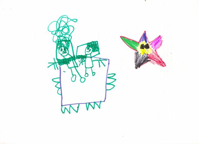 L debuxa :: cama e estrela