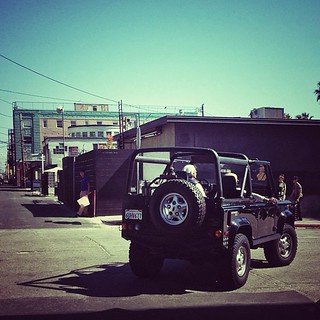 Wrapping up a great day shooting a stunning #defender on the PCH with Mr @bhaz and @westcoastdefender.