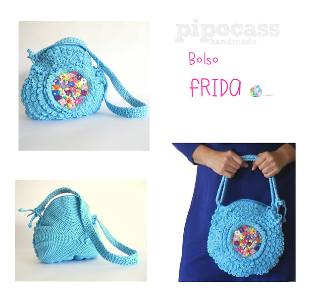 Bolso crochet Frida