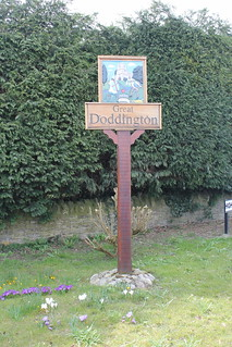 Doddington sign