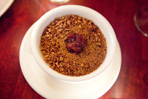 Shanghai Walnut Crusted Cheesecake