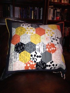 Finished! - Corbin's gigantic floor pillow