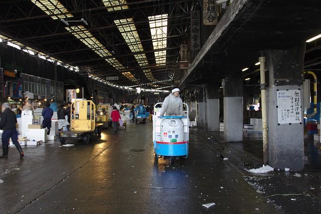 0230 - Tsukiji el Mercado de Pescado