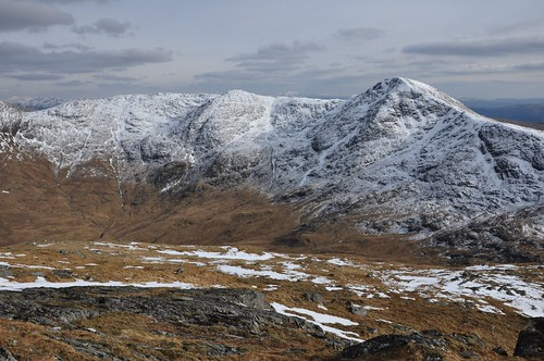 Sgurr na Ba Glaise from An Stac