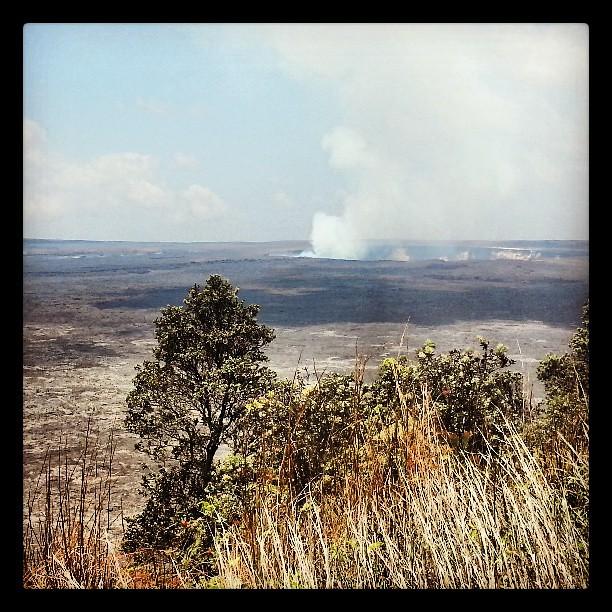 Steaming Volcano #hawaii #bigisland #volcano