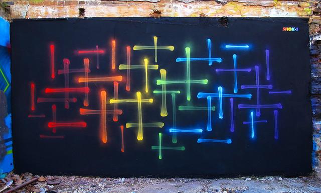 'X-Rainbow 5' by Shok Oner
