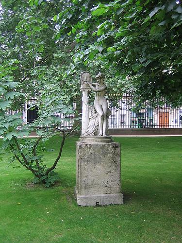 IMG_8071 - La Bocca della Verità, statue by Jules Blanchard, Jardin du Luxembourg, Paris