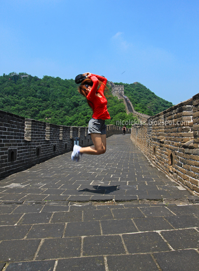 nicolekiss Great wall of china Beijing