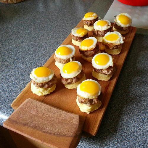 JoAnne's Mini Breakfast Sandwiches (photo by Evelyn Chan)