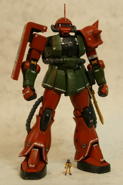 "Real Grade - MS-06FS Zaku II ""Garma Zabi Custom"" - Completed 2 -"