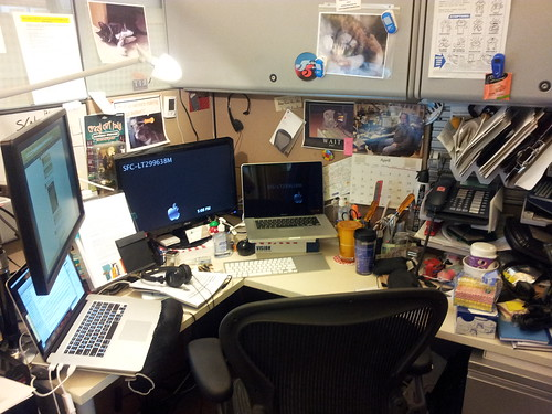 Henry's workspace
