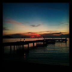 Last #sunset on Koh Mak