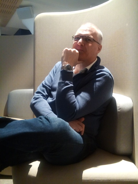 John Moss, a mentor at GovHack 2016