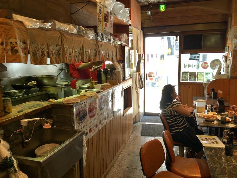 ジャジャン麺ハウス店内