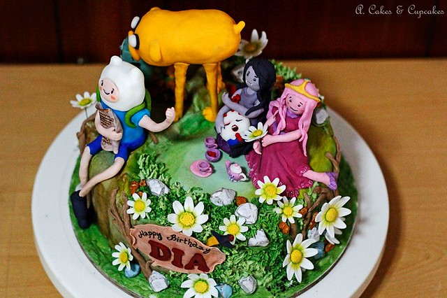 Adventure Time Cake by Alfred Fernandez Nimo