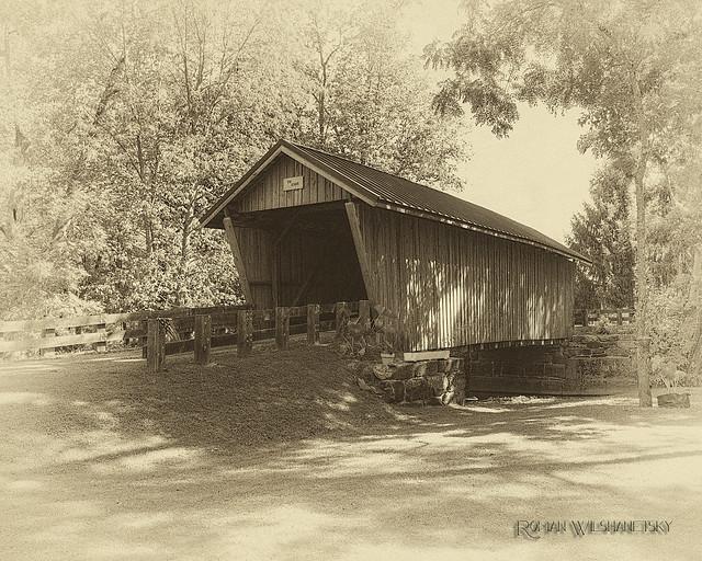 Adams Covered Bridge - Morgan County