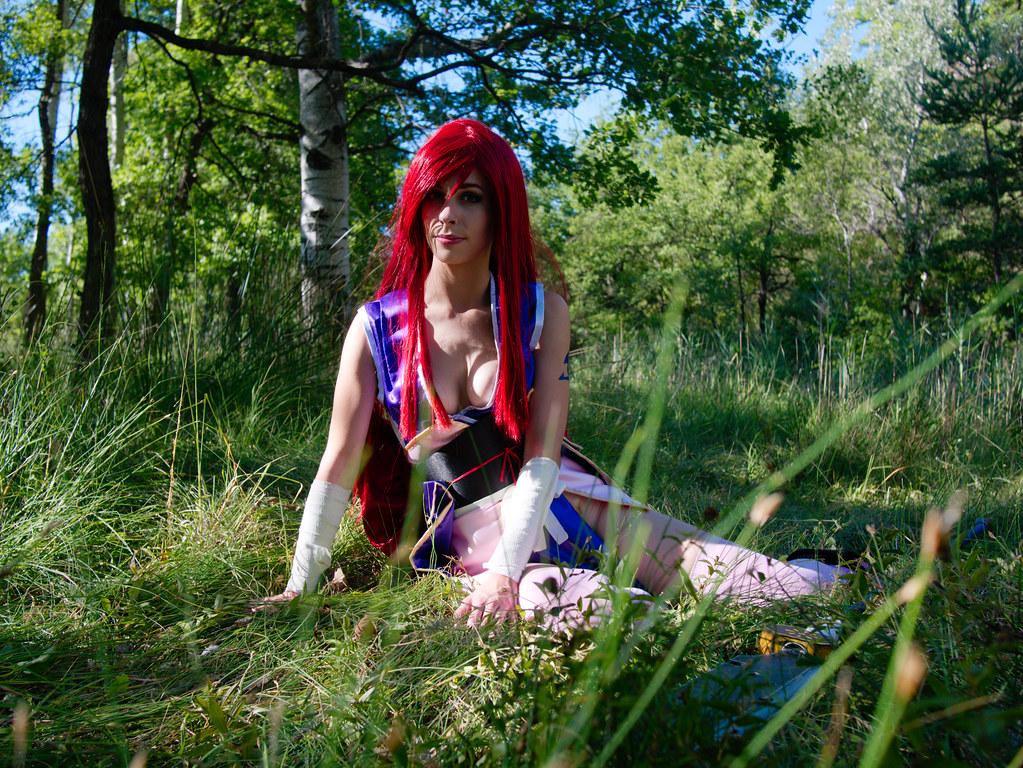 related image - Shooting Erza Scarlet - Robe de Yuen - Alpes de Haute Provence - 2016-08-14- P1520054