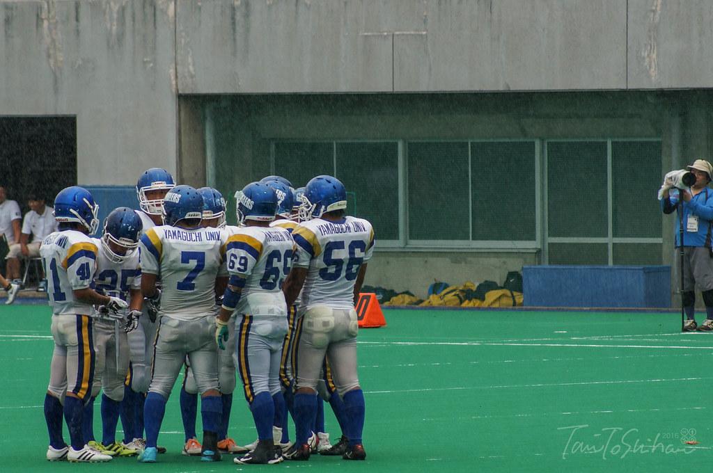 愛媛大-山口大(中四国学生アメリカンフットボールリーグ戦 2016)