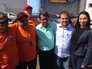 Paulinho da Força visita Marília e apoia Juliano