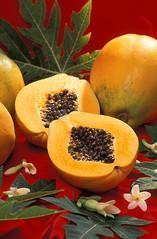 papaya, produce, fruit, food,