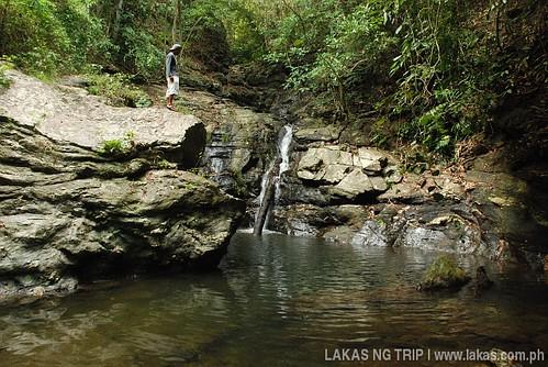 Agbaliga Waterfalls in Romblon Island, Romblon Province, Philippines