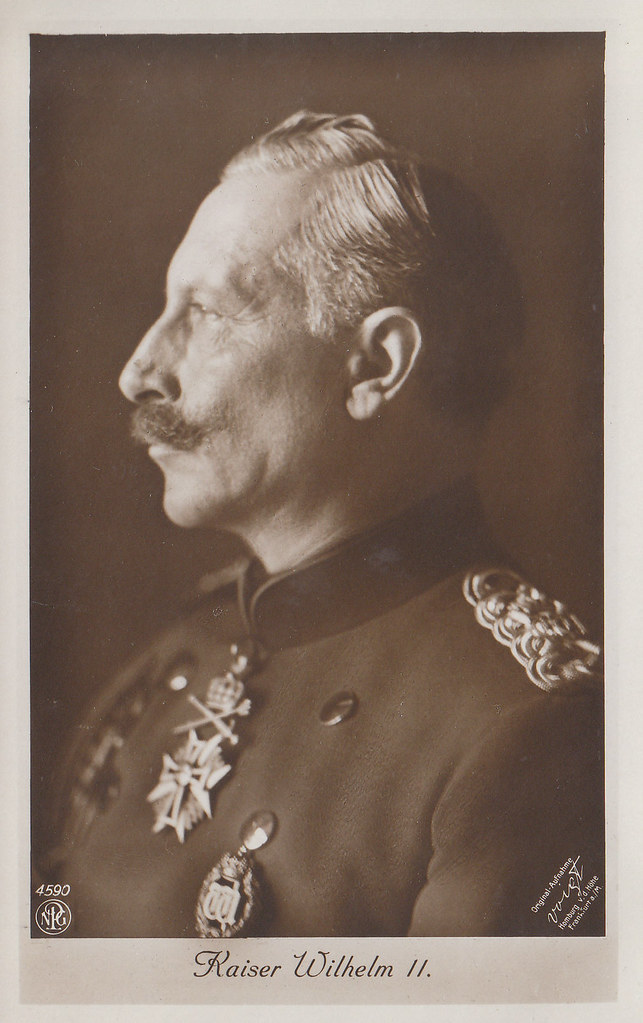Kaiser Wilhelm II. König von Preussen, The German Emperor & King of Prussia 1859 – 1941 by Miss Mertens