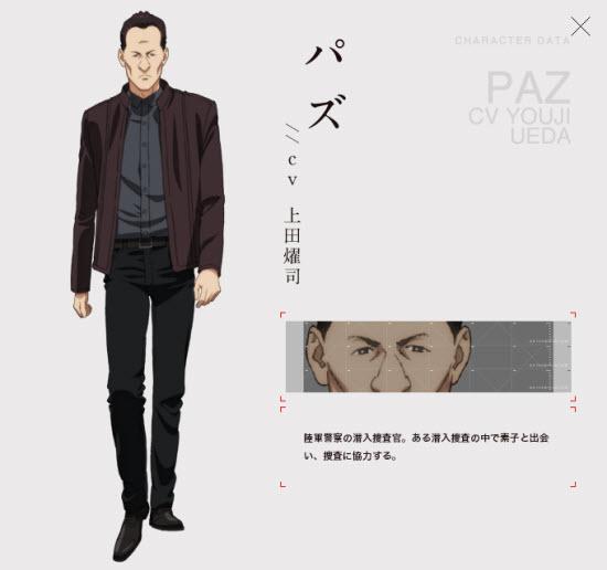Paz(パズ)CV Youji Ueda(上田燿司)