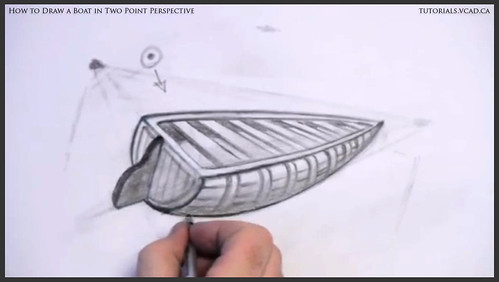 learn how to draw a boat in two point perspective 016