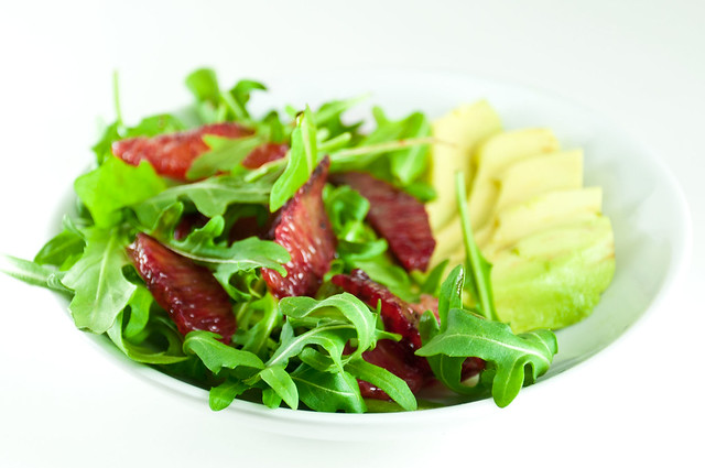 Arugula, Blood Orange, Avocado Salad | PopArtichoke