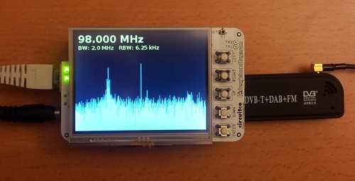RTL-SDR spectrum analyzer on the Beaglebone - OZ9AEC Website