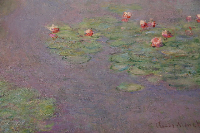 Detail of Waterlilies