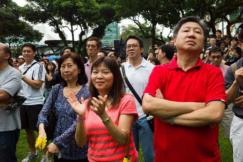 Singaporeans want to be heard, and they want to be heard about the population white paper.