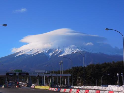 富士山 帽子