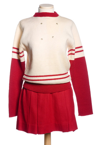 Cheerleader's uniform, 1973-1975