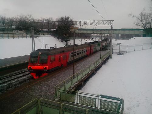 Local train by elephantr