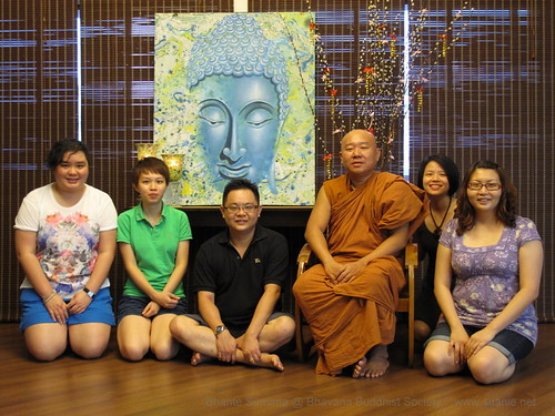 Suanie's Chinese New Year 2013 - with Bhante Sumana