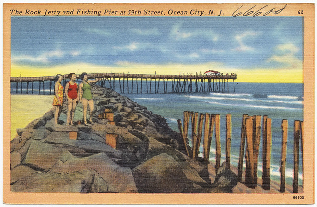 The Rock Jetty And Fishing Pier At 59th Street Ocean City Flickr Photo Sharing