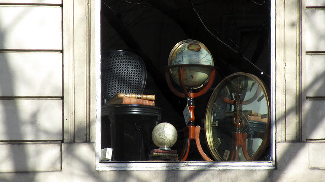 Antique globes