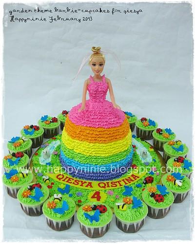 Barbie,cupcakes