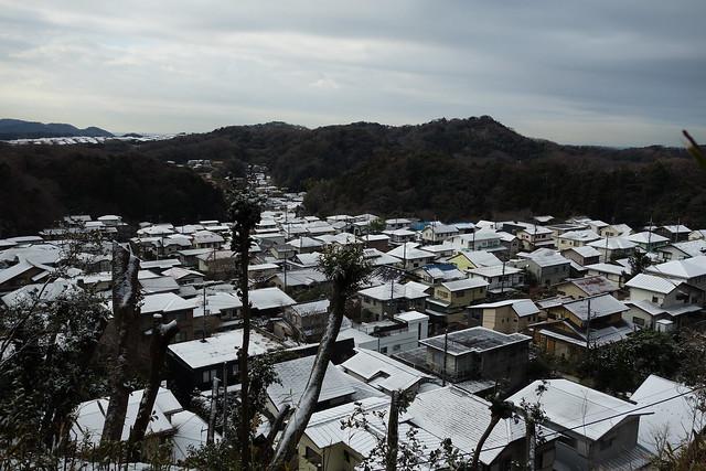 snowy Kamakura