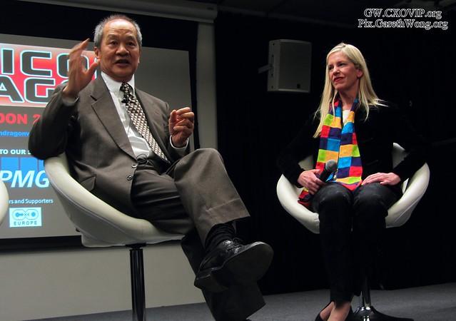 Savio Kwan, ex COO CPO Alibaba.com, Rebecca Fannin, Silicon Dragon Ventures IMG_3592